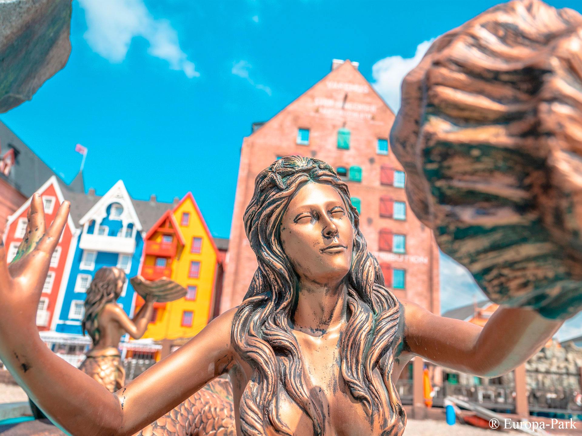 Mermaid Fountain at Europa-Park